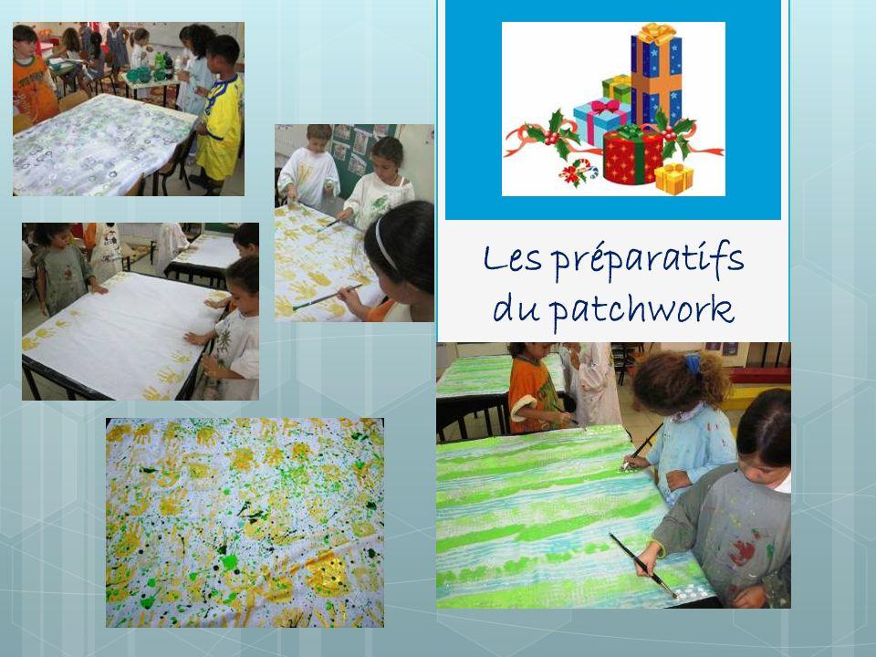 Les préparatifs du patchwork