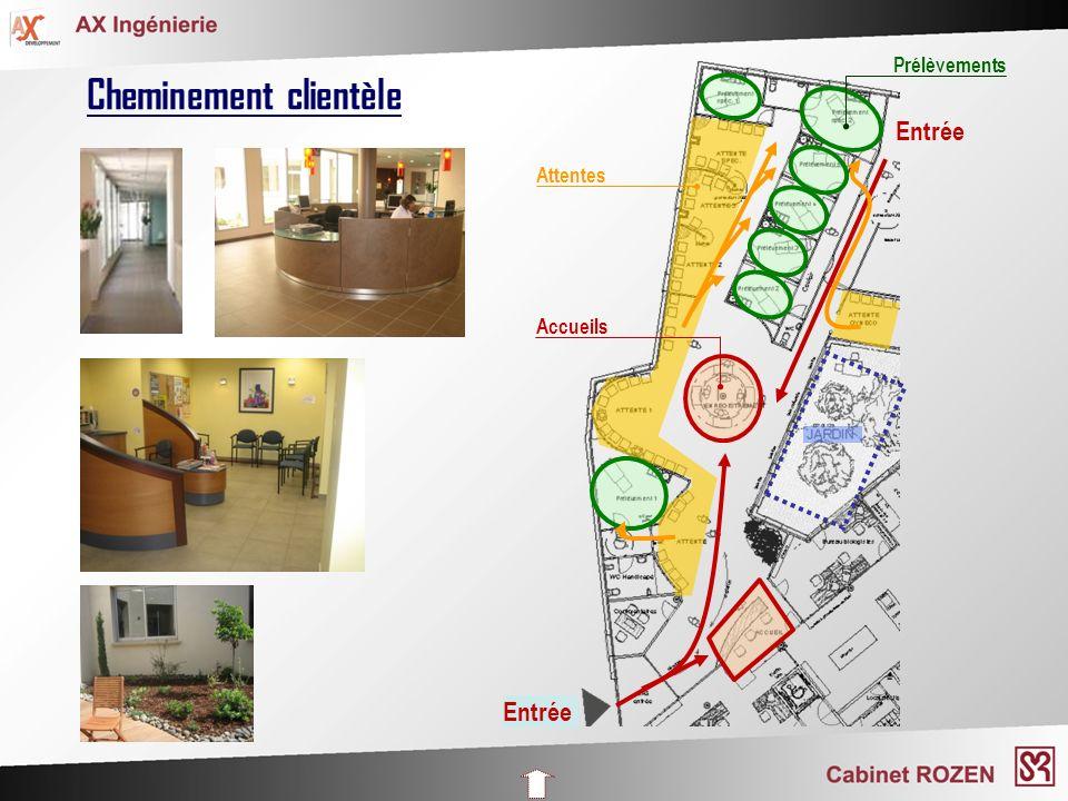 Introduction Organisation des laboratoires Réhabilitations, Constructions neuves Environnement, Accréditation Communication