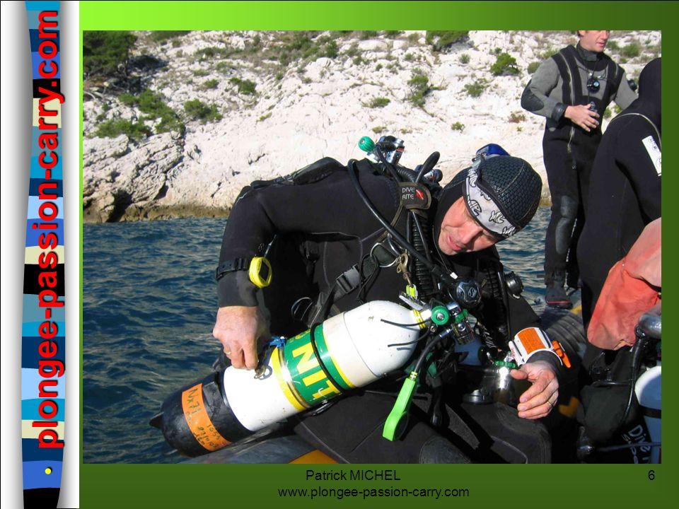 Patrick MICHEL www.plongee-passion-carry.com 7 Plongeur Nitrox SimplePré requis Même prérogatives qu à l air + Prérogatives - Utilisation des mélanges > à 21% et < ou égal à 40%.
