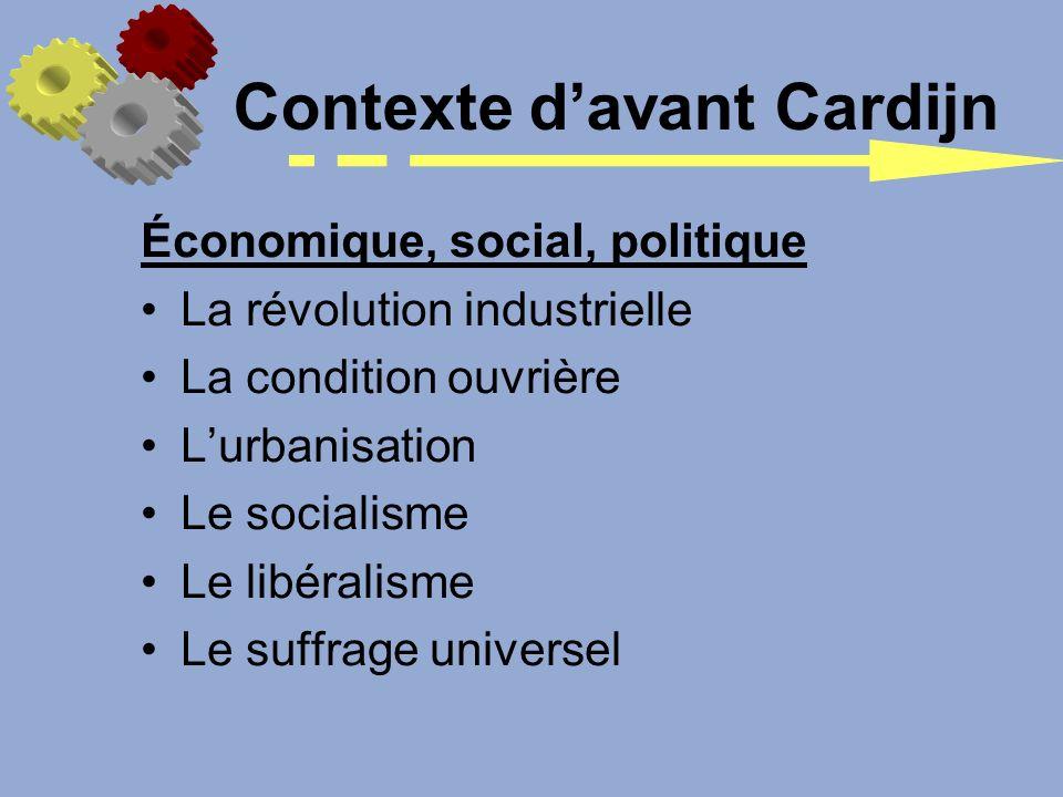 Économique, social, politique La révolution industrielle La condition ouvrière Lurbanisation Le socialisme Le libéralisme Le suffrage universel Contex