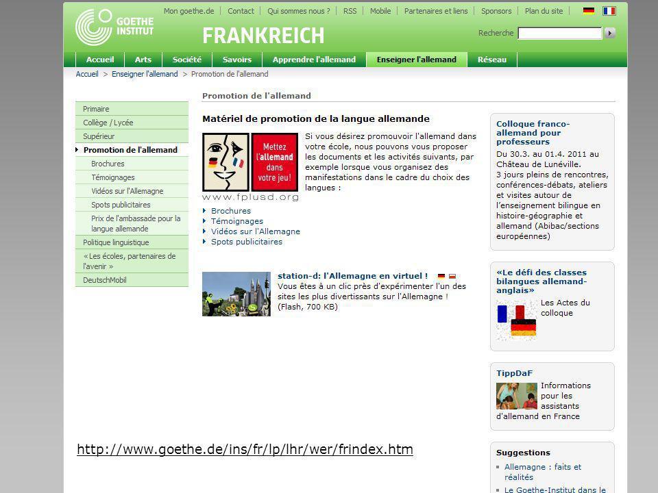 Seite 18 http://www.goethe.de/ins/fr/lp/lhr/wer/frindex.htm