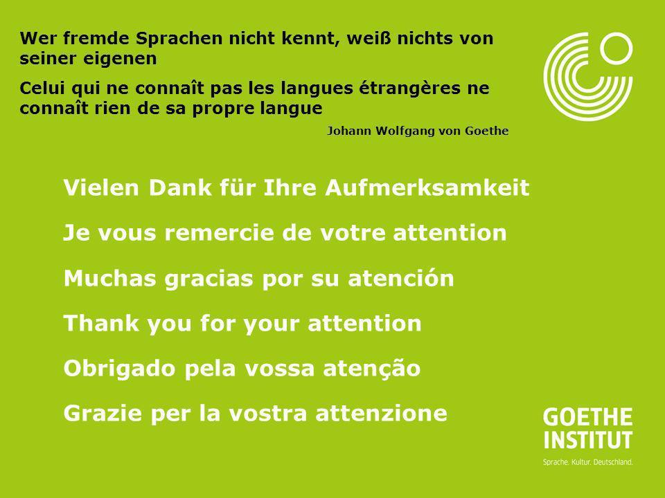 Seite 21 Vielen Dank für Ihre Aufmerksamkeit Je vous remercie de votre attention Muchas gracias por su atención Thank you for your attention Obrigado