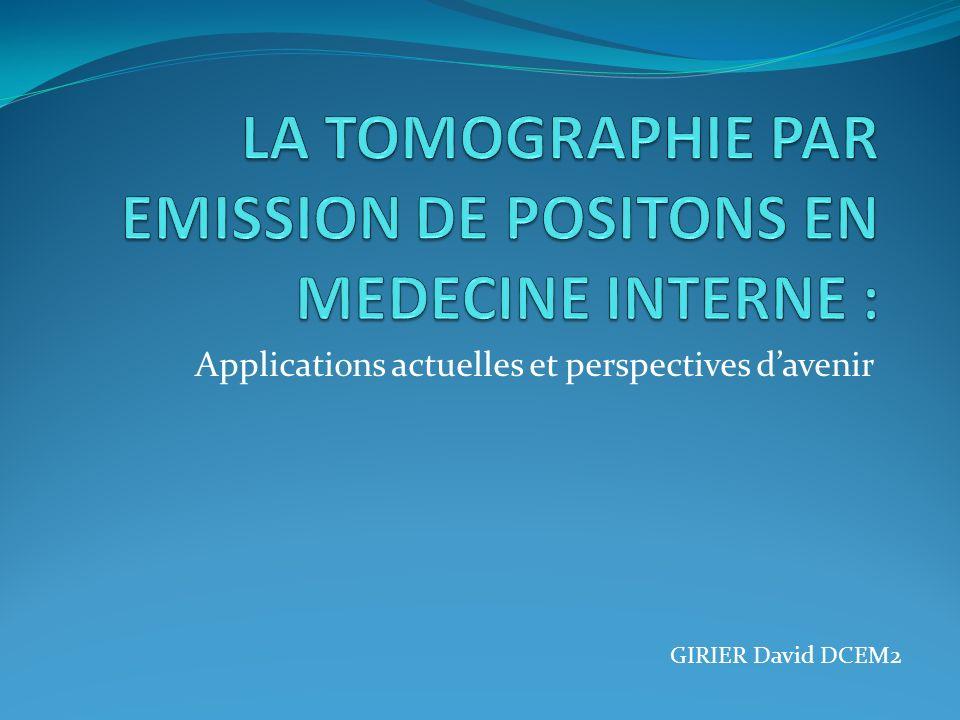 Applications actuelles et perspectives davenir GIRIER David DCEM2