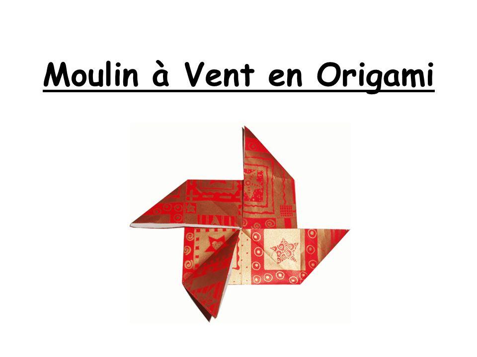 Moulin à Vent en Origami