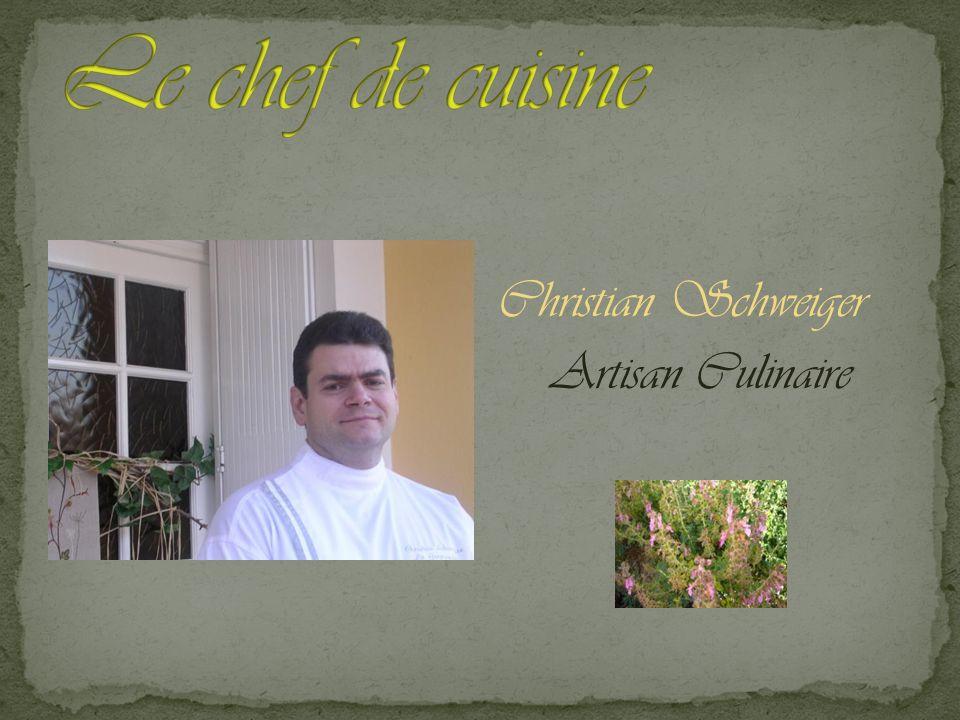 Christian Schweiger Artisan Culinaire