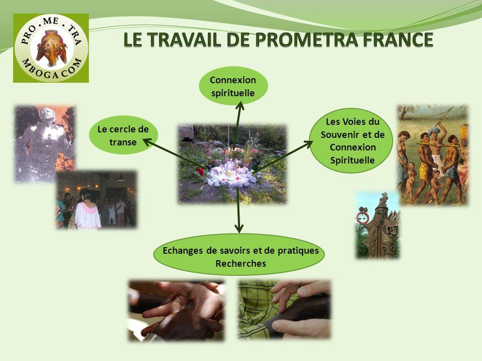 Le cercle de transe Echanges de savoirs et de pratiques Recherches Les Voies du Souvenir et de Connexion Spirituelle Connexion spirituelle