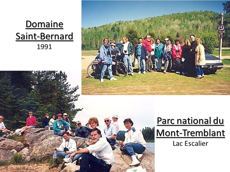 Domaine Saint-Bernard Domaine Saint-Bernard 1991 Parc national du Mont-Tremblant Lac Escalier © Claudine Lafrance