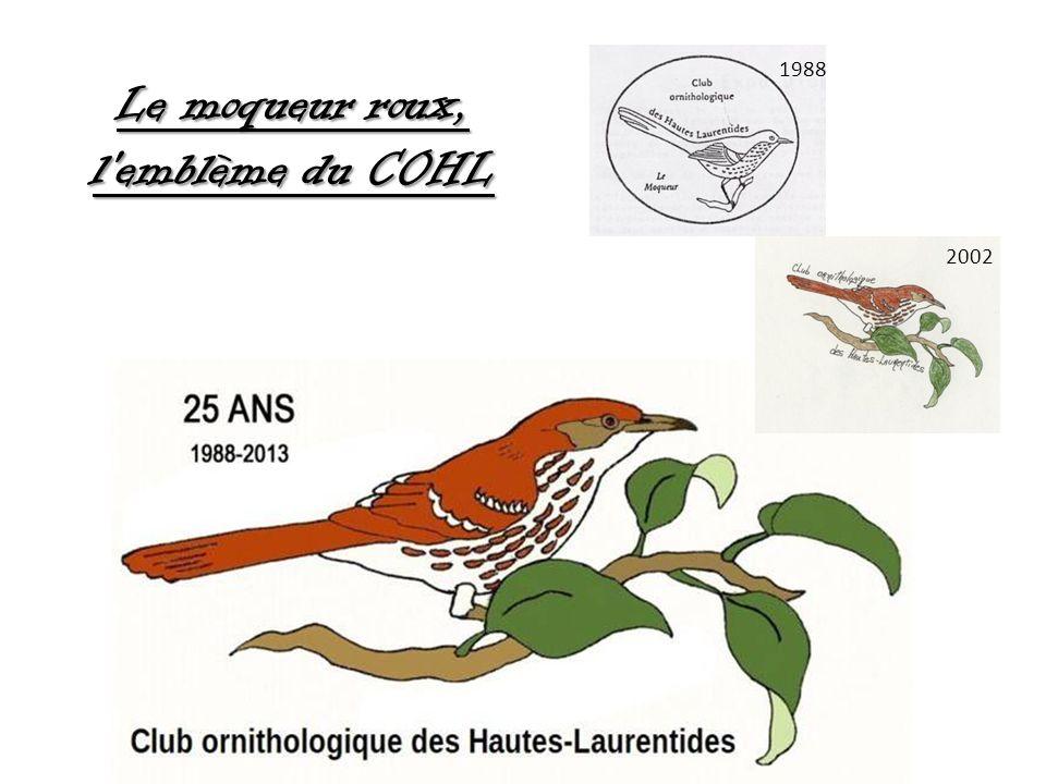 Le moqueur roux, l emblème du COHL 2002 1988