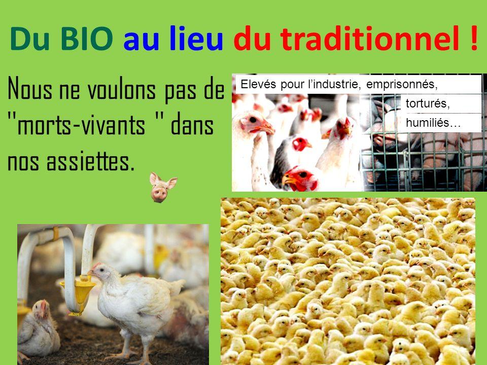 L Agriculture biologique Lélevage industriel