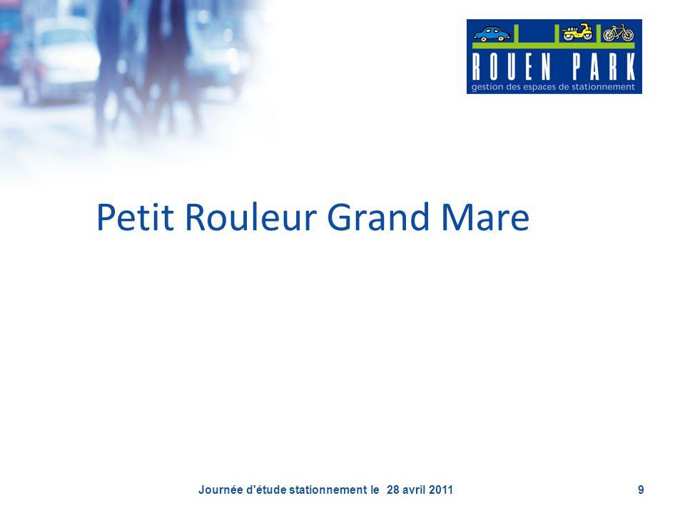 Petit Rouleur Grand Mare Journée d'étude stationnement le 28 avril 20119