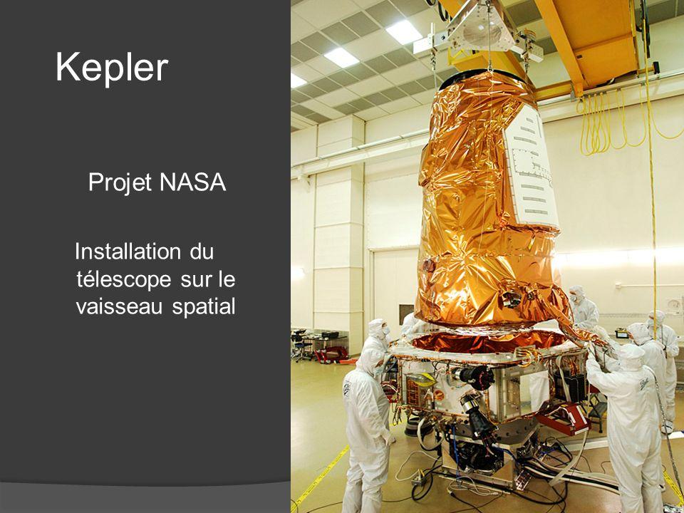 Kepler Mission budget $ 600 millions - JWST James Webb ST $ 9 000 millions - Hubble construction $ 2 500 millions - Space Shuttle launch $ 450 millions Durée de la mission 4 ans
