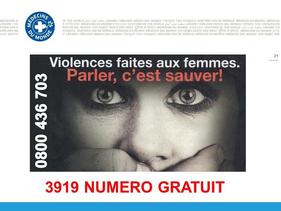 31 3919 NUMERO GRATUIT