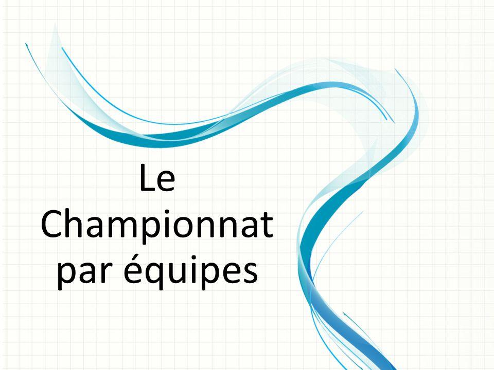 Le Championnat par équipes