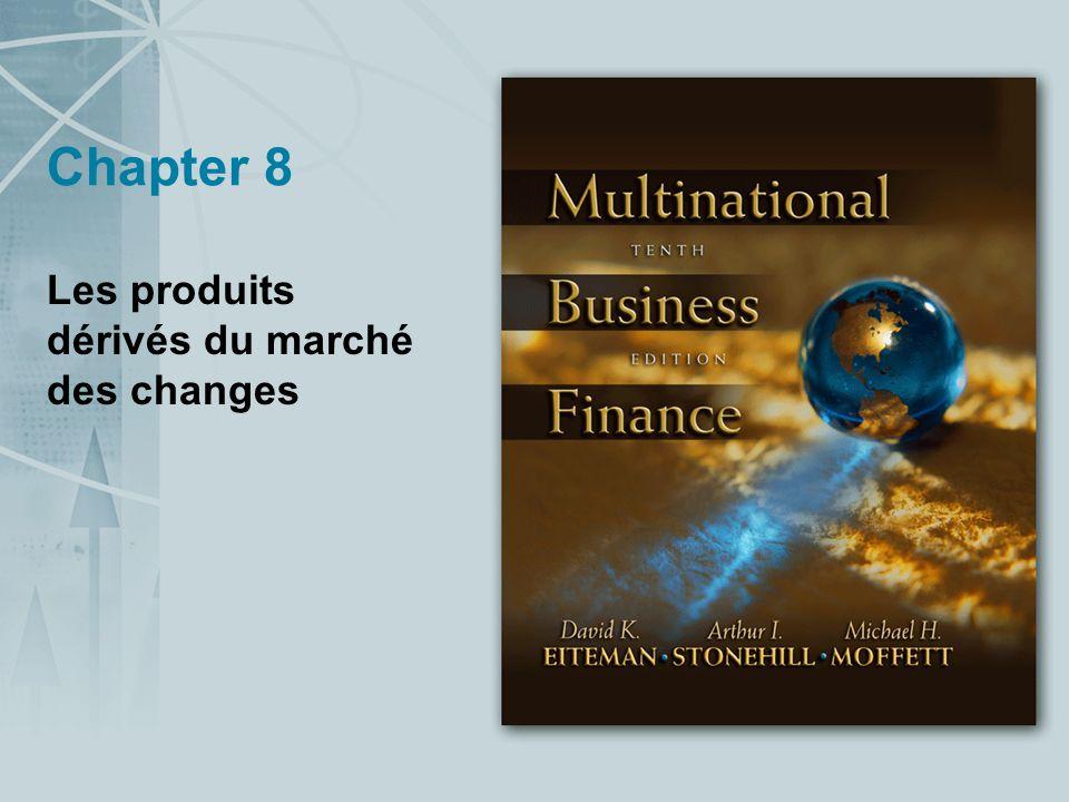 Chapter 8 Les produits dérivés du marché des changes