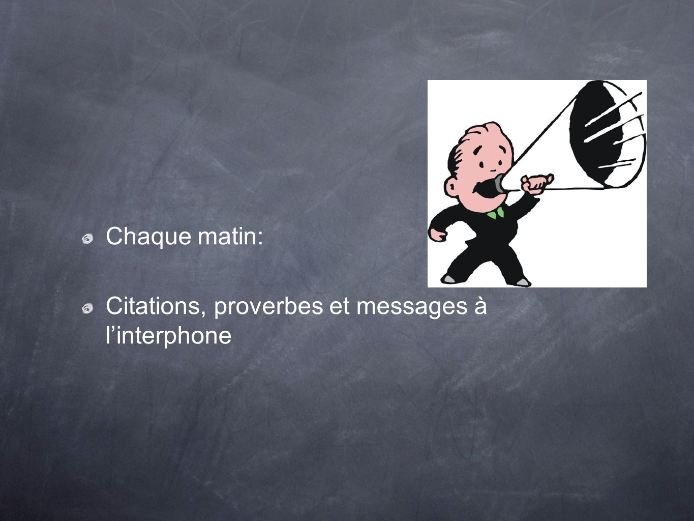 Chaque matin: Citations, proverbes et messages à linterphone