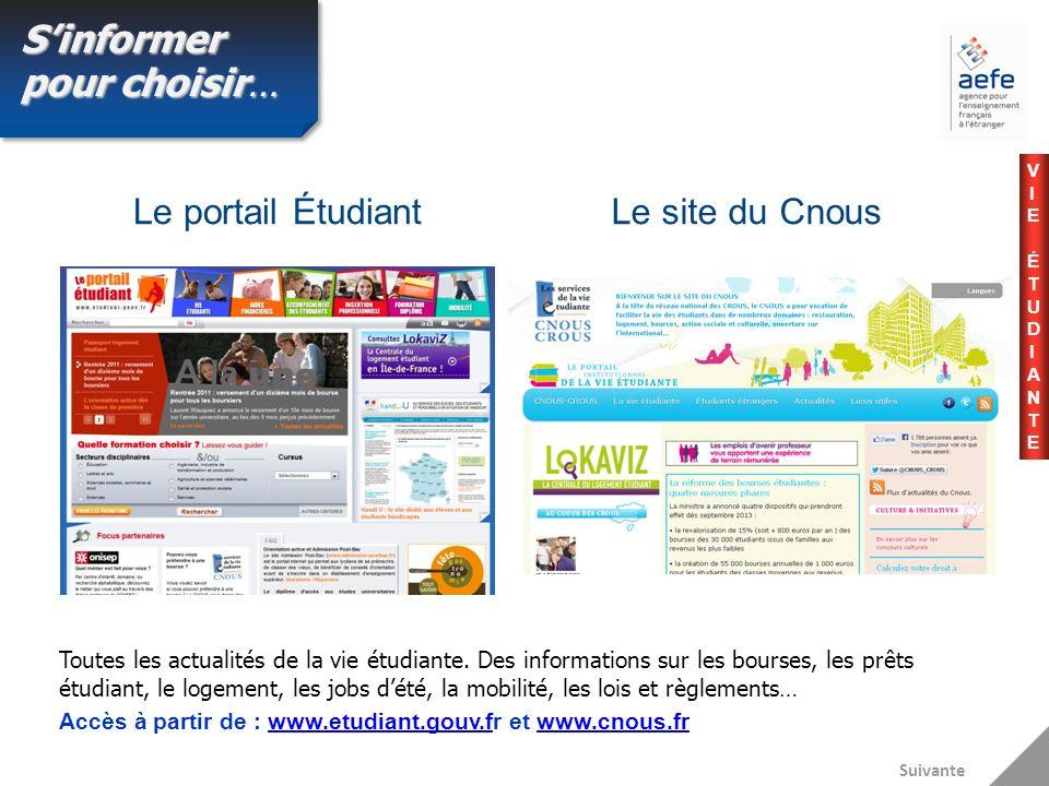 Le portail Étudiant Toutes les actualités de la vie étudiante.