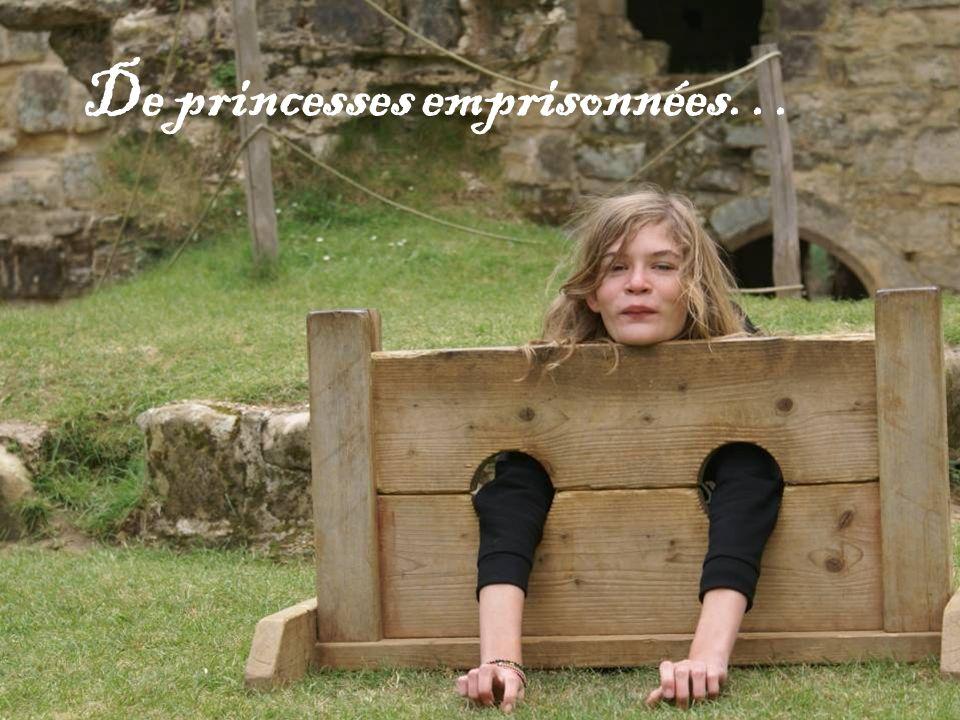 De princesses emprisonnées…