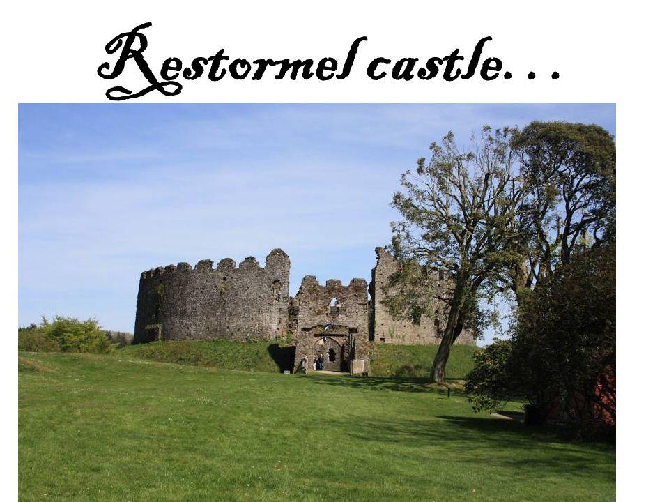 Restormel castle…