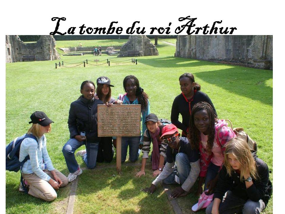 La tombe du roi Arthur