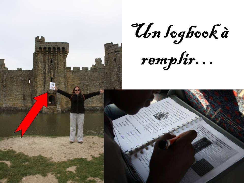 Un logbook à remplir…