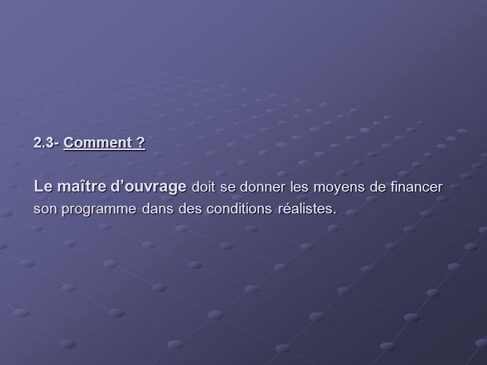 2.3- Comment .