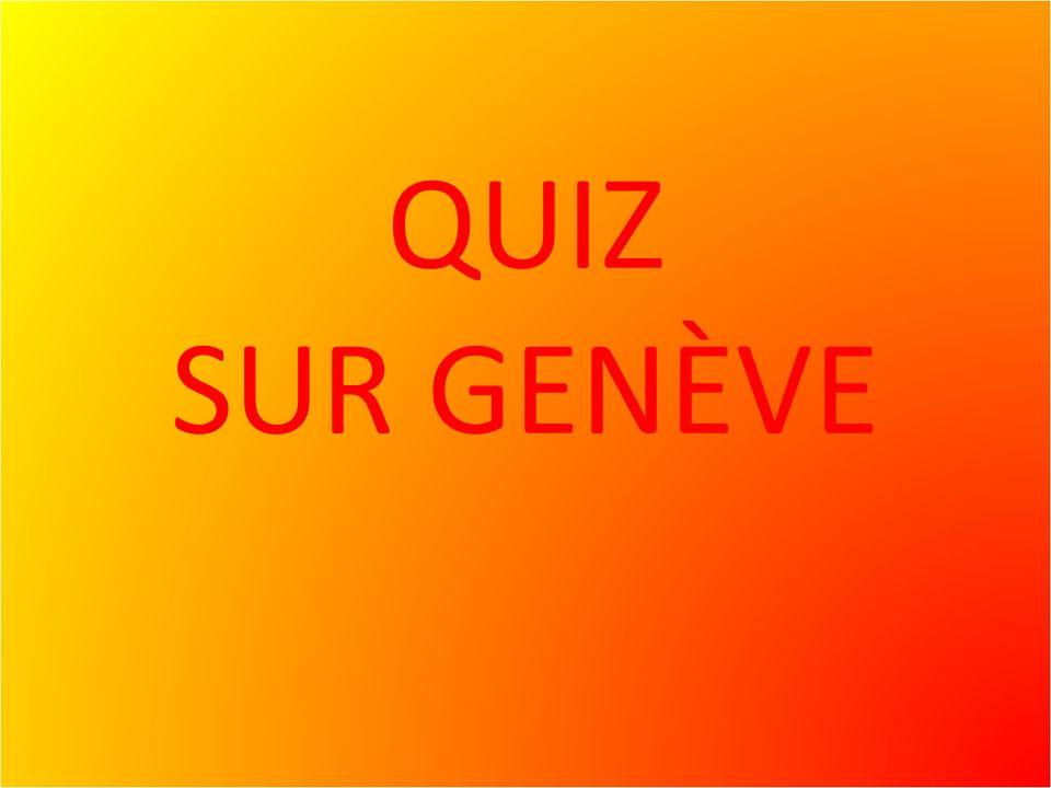 Lor et Genève Il ny a pas que dans les coffres des banque quil y a de lor…..