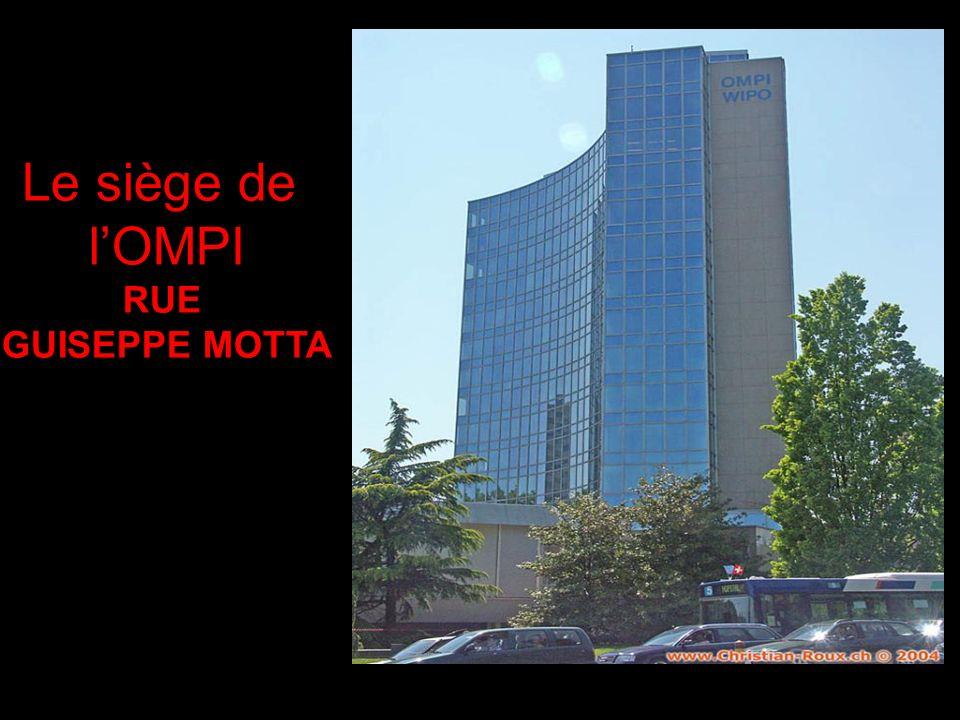 Le siège de lOMPI RUE GUISEPPE MOTTA