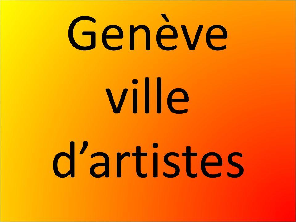Genève ville dartistes