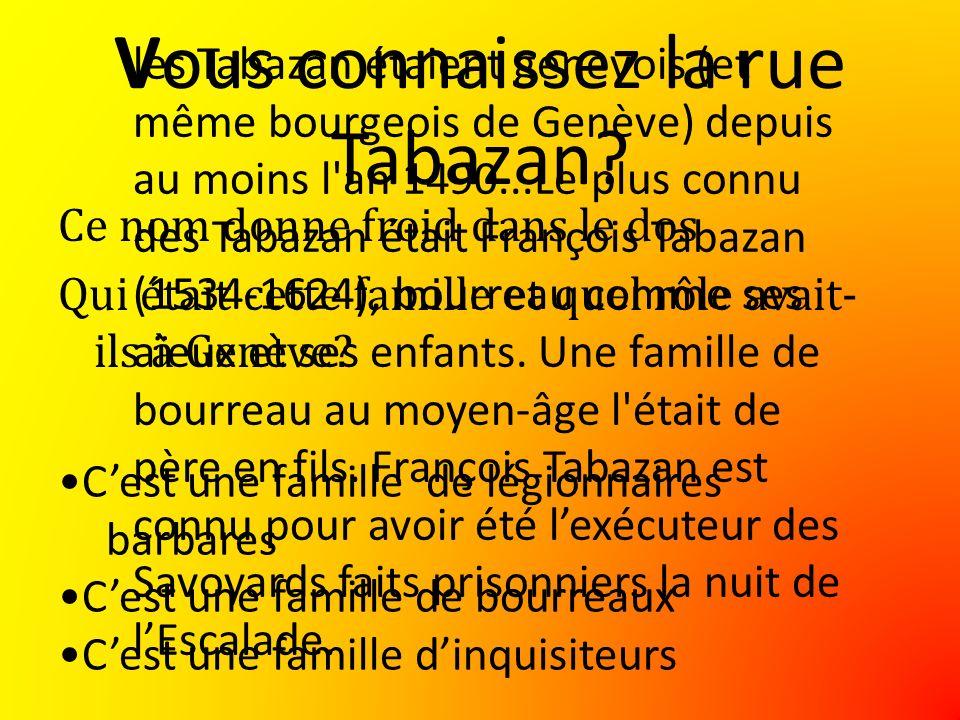 Guillaume FAREL Jean CALVIN Théodore DE BEZE John KNOX