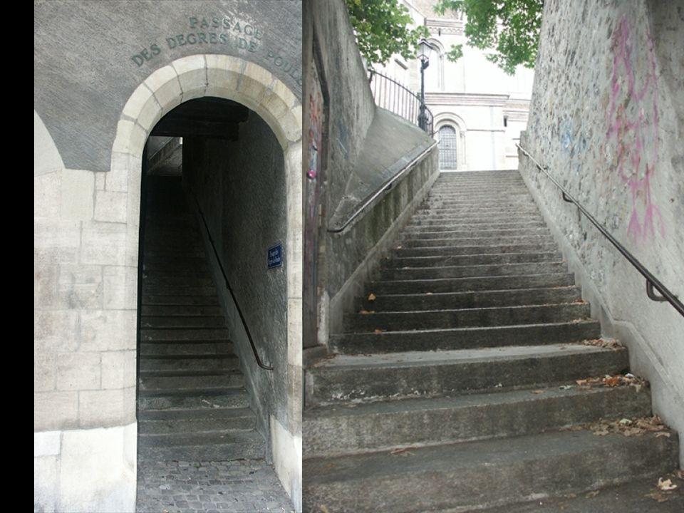 la plus vieille ruelle de la Rive droite Ici se tenaient des bains chauds La rue des Bains La rue des Etuves La ruelle Vive