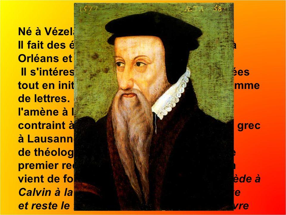 Né à Vézelay en Bourgogne en 1519.Il fait des études littéraires et juridiques à Orléans et Paris.