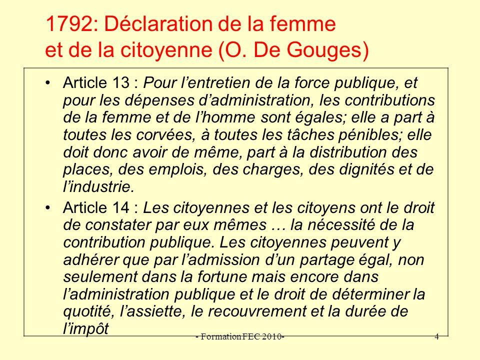 - Formation FEC 2010-15 1830-1919 : Comment comprendre .