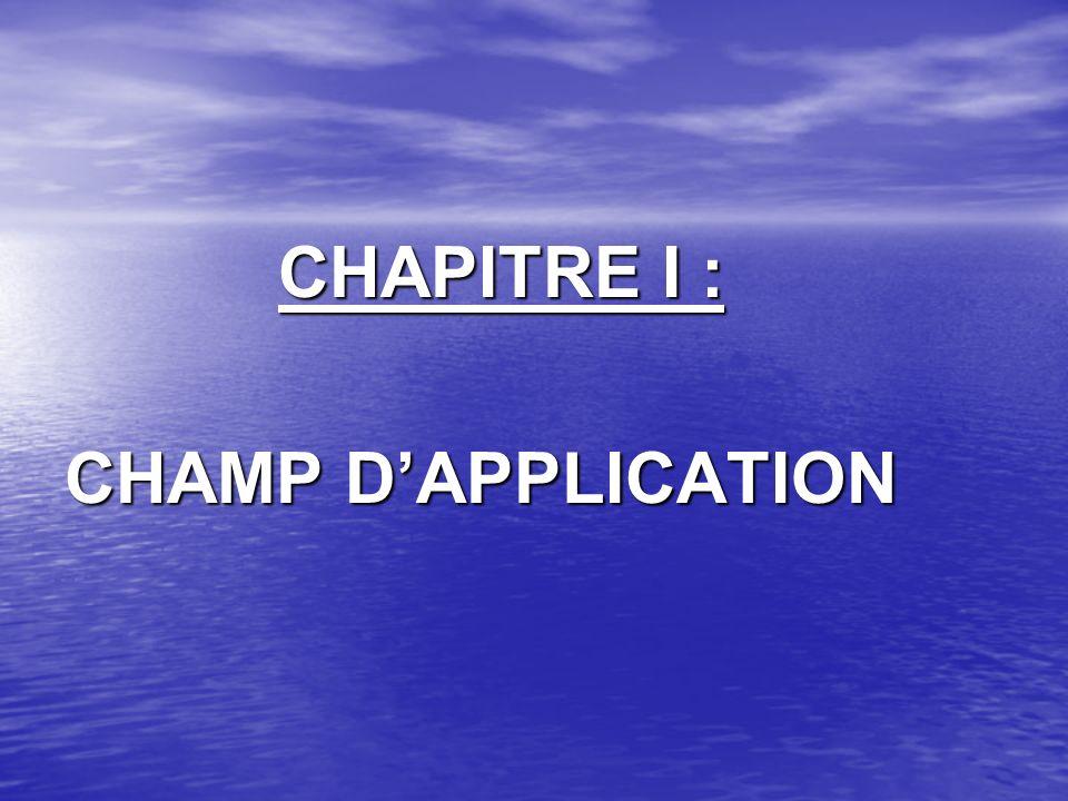 CHAPITRE II : LA BASE IMPOSABLE
