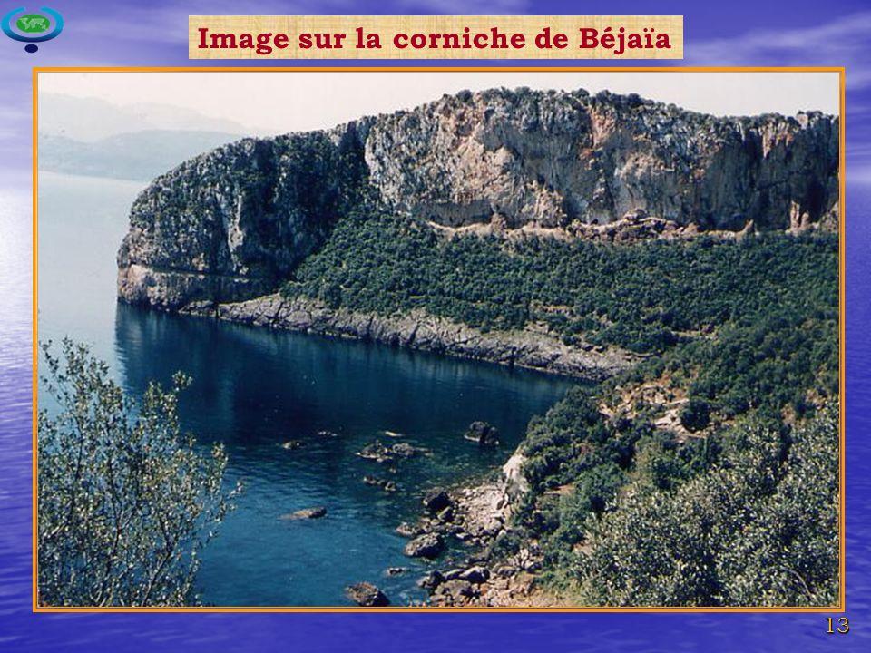 13 Image sur la corniche de Béjaïa