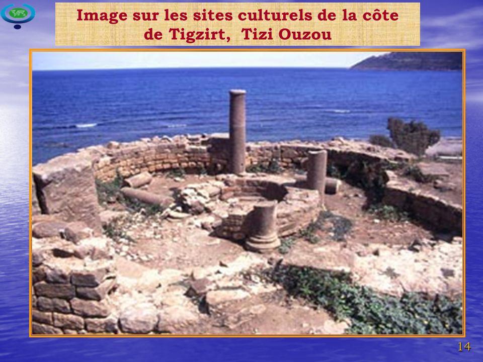14 Image sur les sites culturels de la côte de Tigzirt, Tizi Ouzou