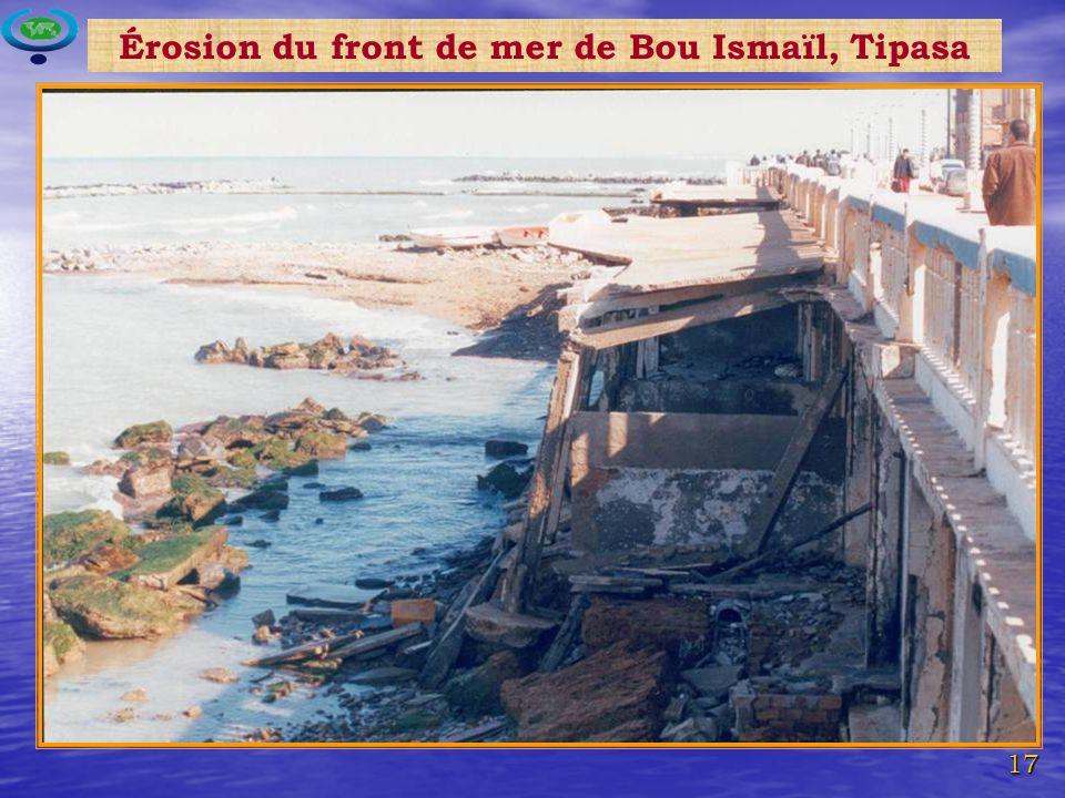 17 Érosion du front de mer de Bou Ismaïl, Tipasa
