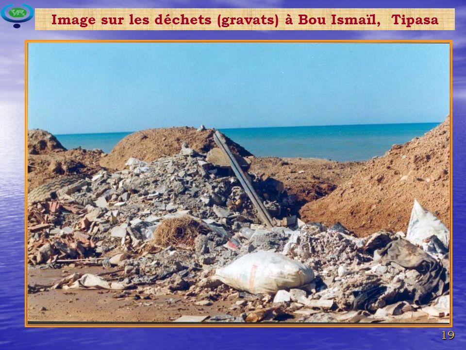 19 Image sur les déchets (gravats) à Bou Ismaïl, Tipasa