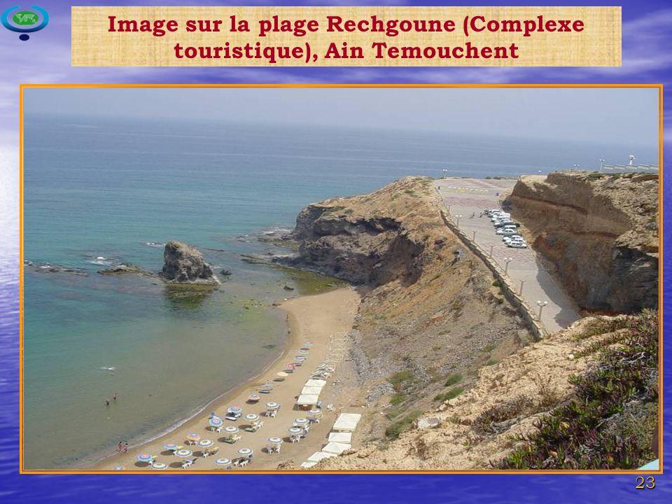 23 Image sur la plage Rechgoune (Complexe touristique), Ain Temouchent