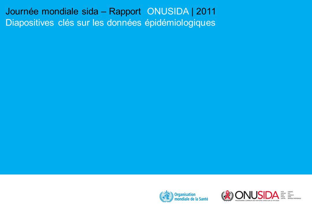 Journée mondiale sida – Rapport ONUSIDA | 2011 Diapositives clés sur les données épidémiologiques