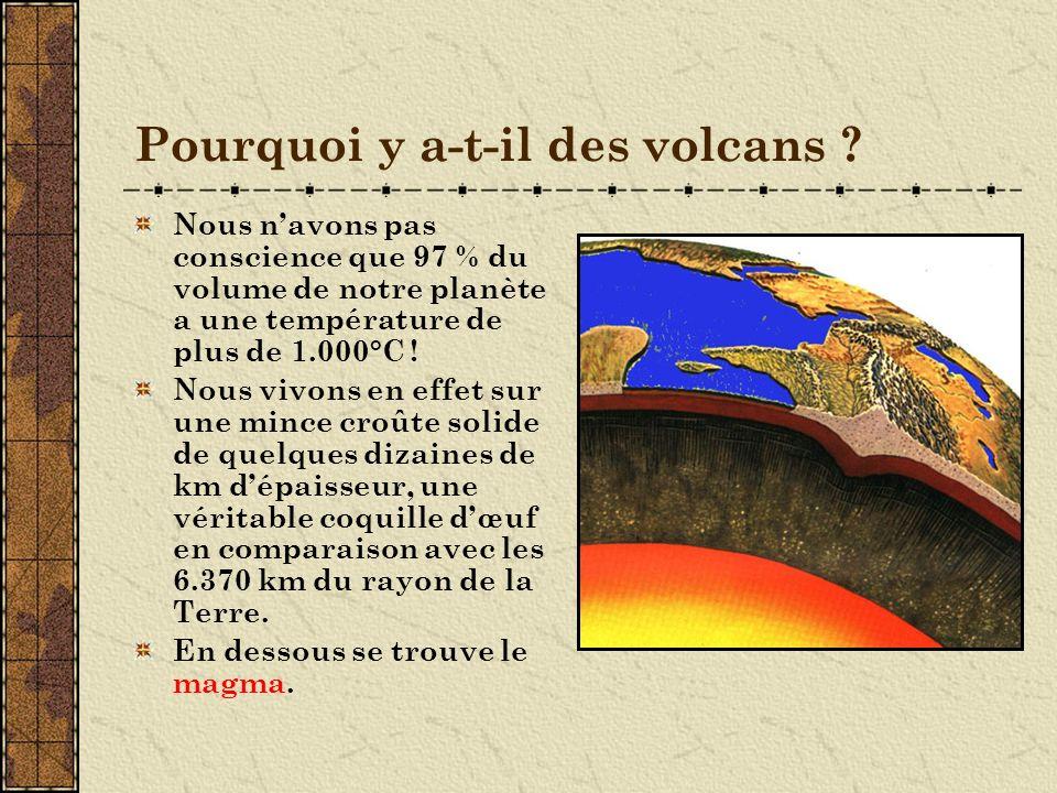 Pourquoi y a-t-il des volcans .