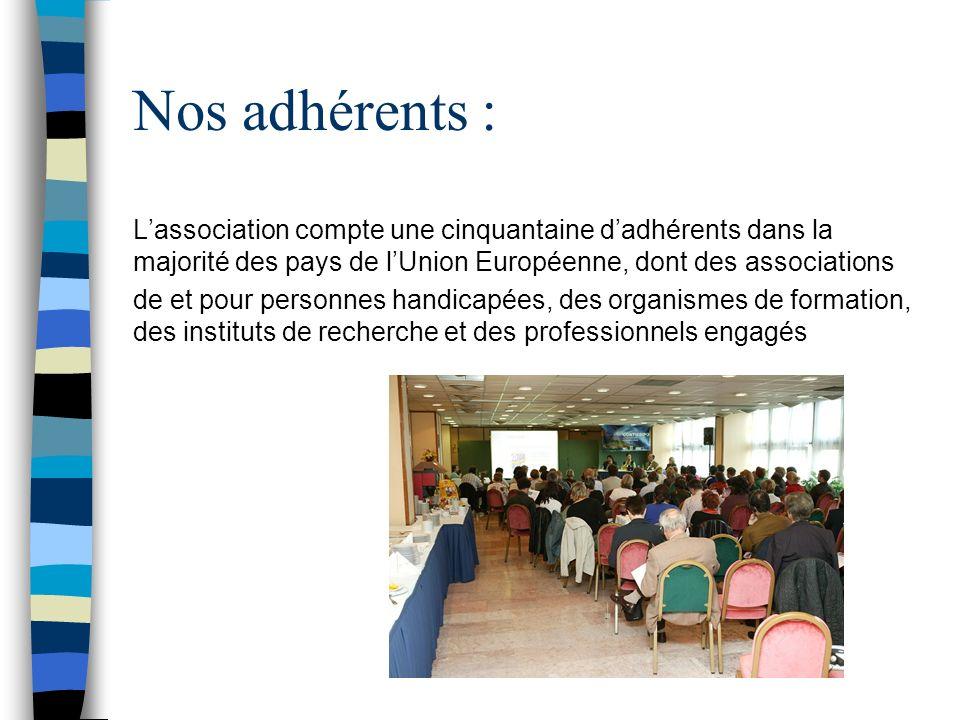 Quelques numbres Arfie 62 dadhérents en 2013 12 pays représentés Cotisation annuelle 250 Euro (2012) Cifres d Affaire 3 Réunion du Bureau 1 Assemblée Générale