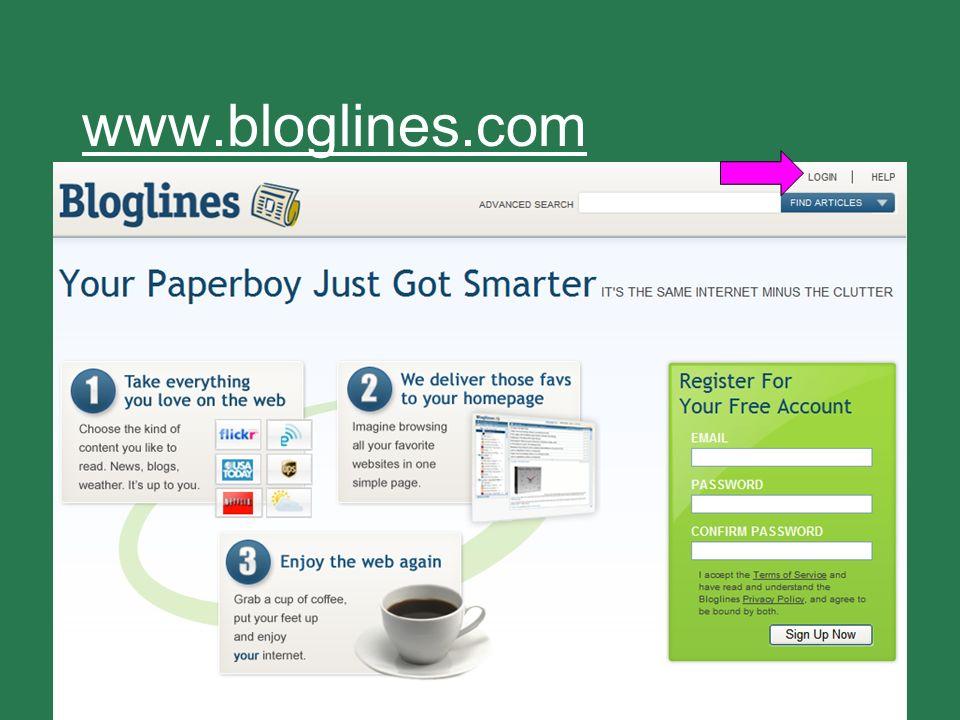 37 www.bloglines.com