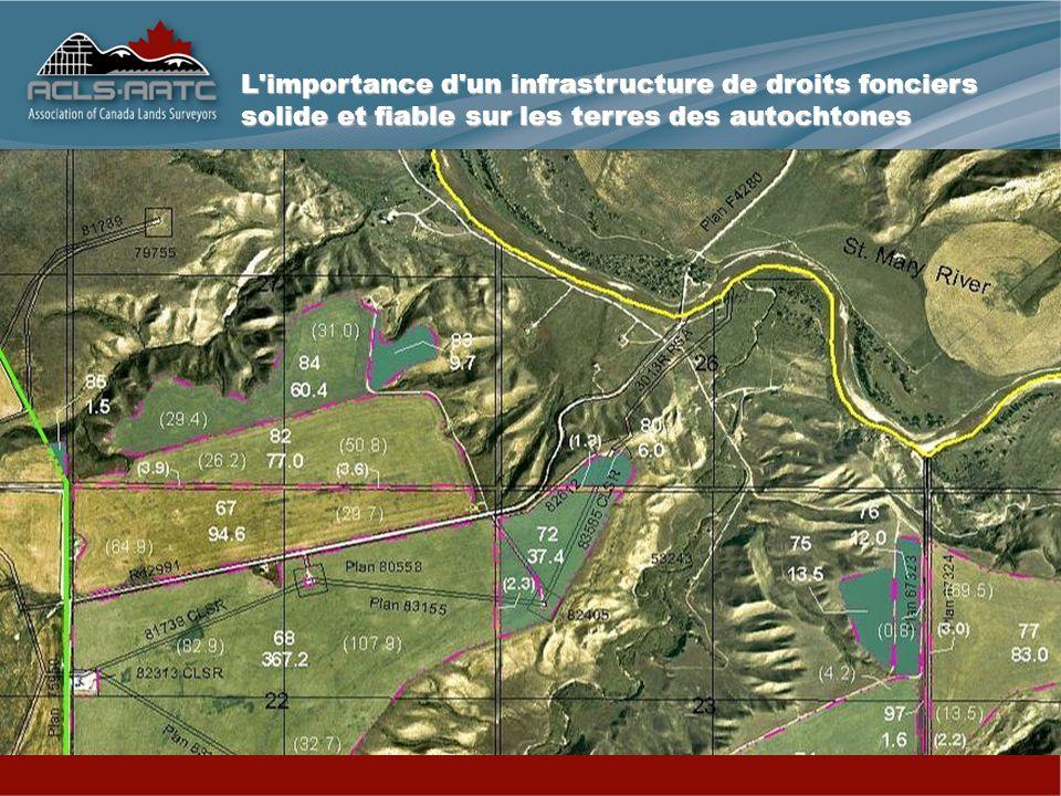 L importance d un infrastructure de droits fonciers solide et fiable sur les terres des autochtones