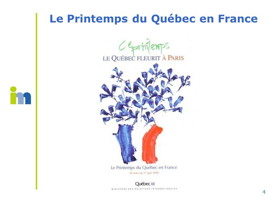 4 Le Printemps du Québec en France