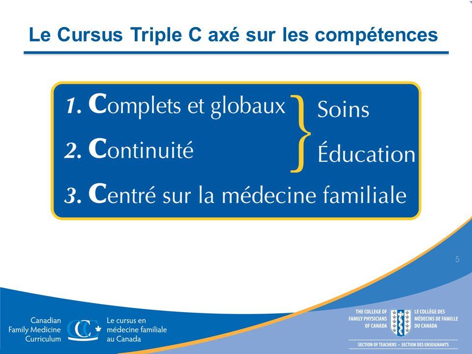 Le Cursus Triple C axé sur les compétences 5