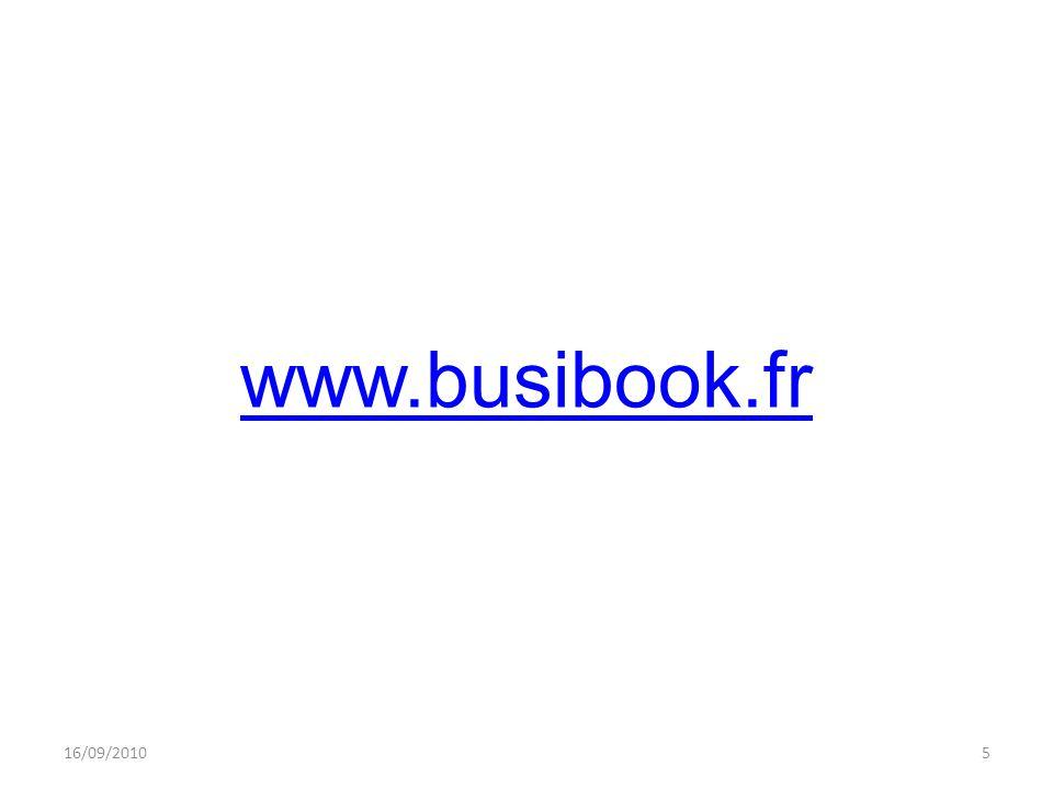 www.busibook.fr 16/09/20105