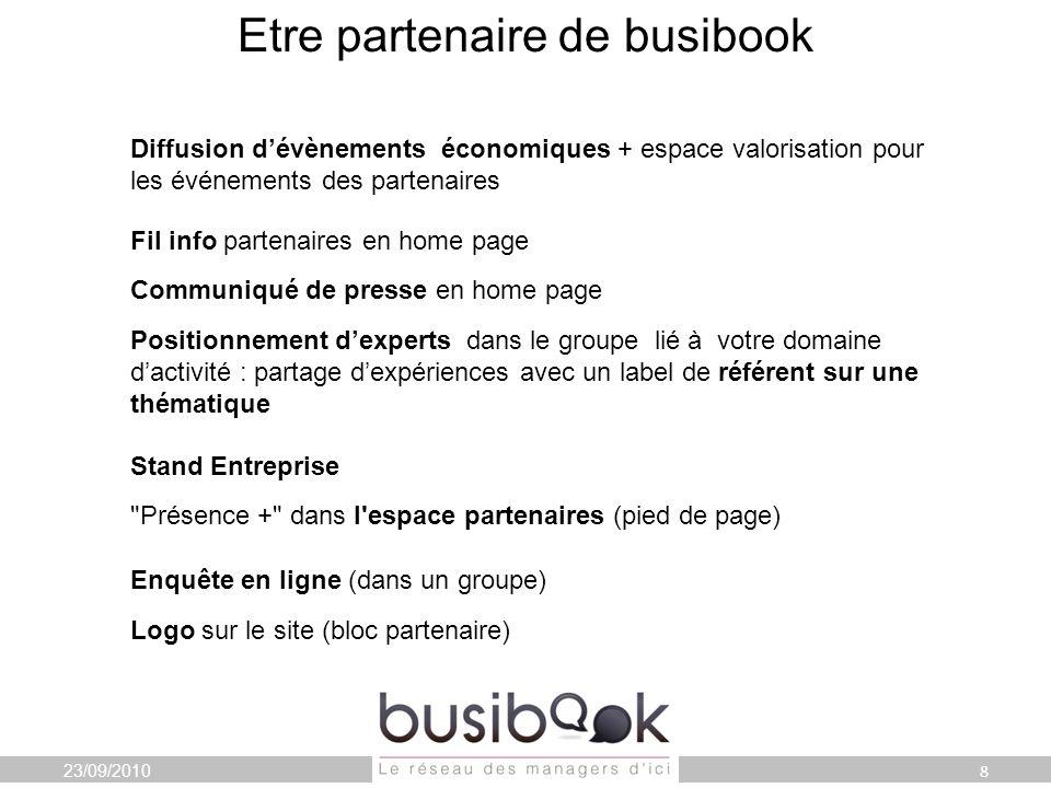 La Parole est à vous… Toute léquipe Busibook vous remercie de votre présence et de votre intérêt 16/09/20109