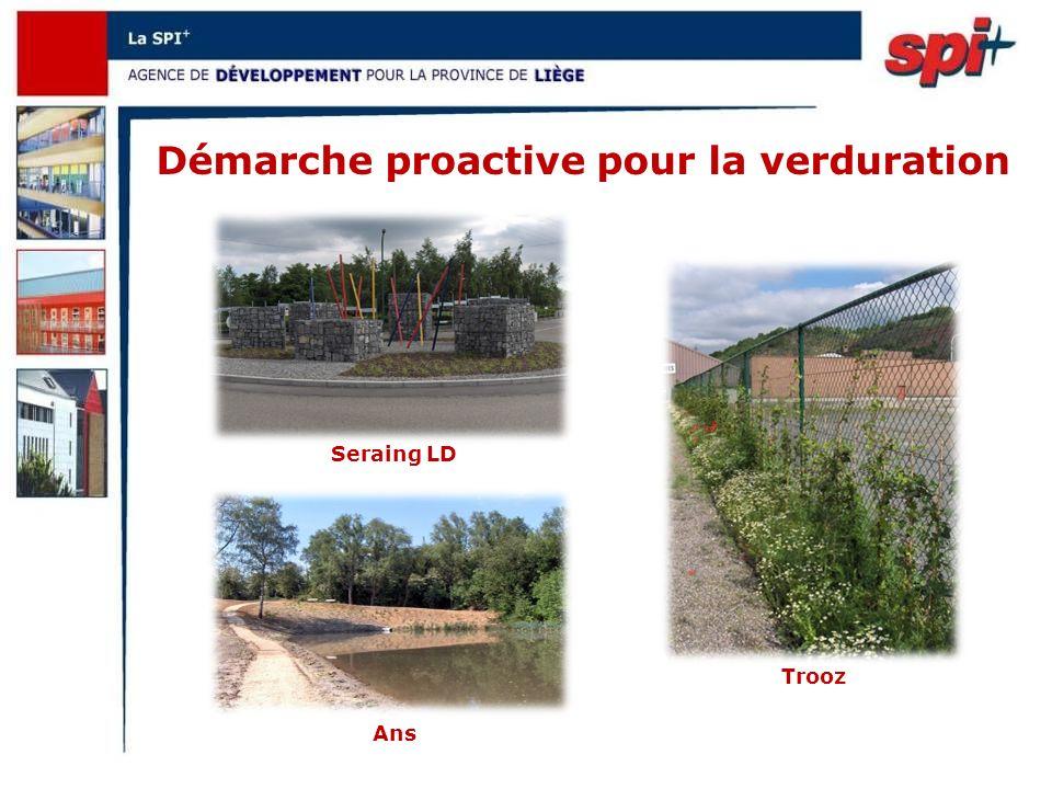 Démarche proactive pour la verduration Ans Trooz Seraing LD