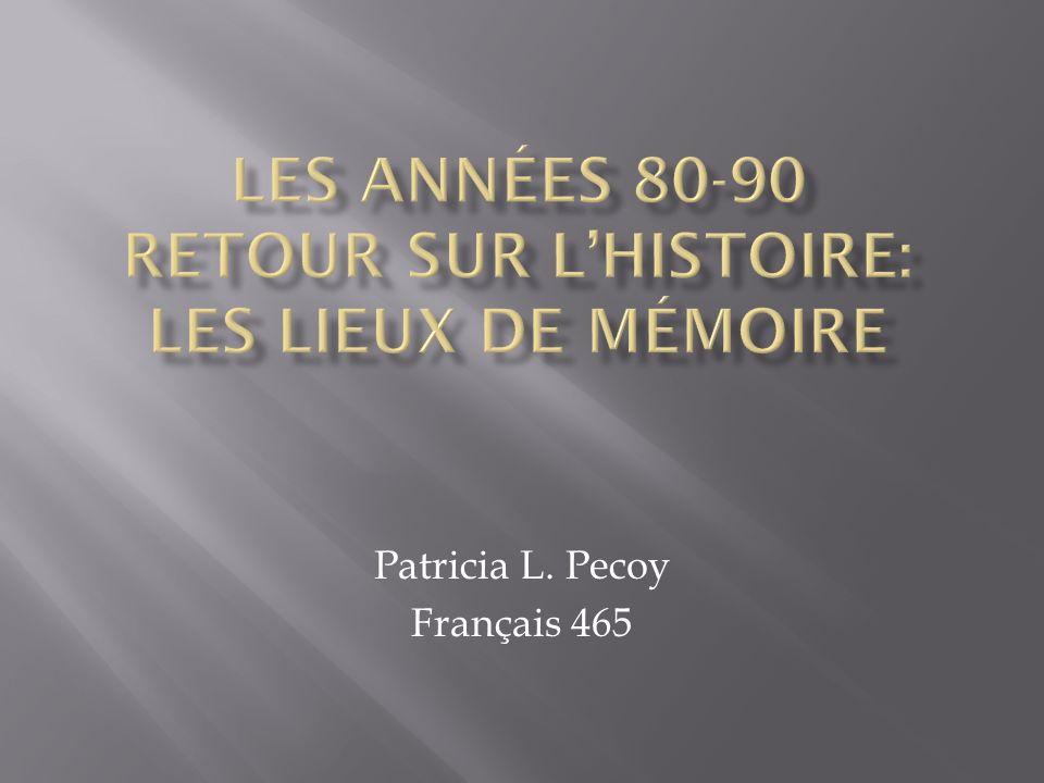 Patricia L. Pecoy Français 465