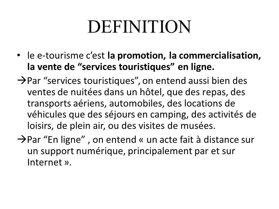 INTRODUCTION A lheure où le e-tourisme connait une très forte croissance, les nouvelles technologies aident, sans conteste, les professionnels du Tourisme à développer leur chiffre daffaires mais aussi à mieux gérer leurs entreprises.